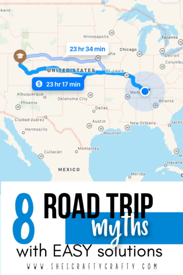 8 road trip myths and easy solutions for your travel