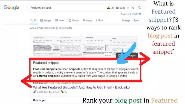 3 ways to rank a blog post in featured snippets