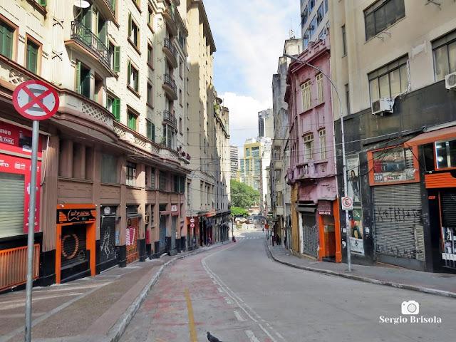 Vista da Rua do Seminário no Centro - São Paulo