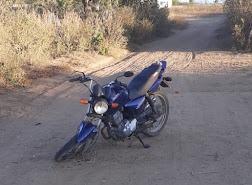 Polícia Militar recupera moto e arma branca supostamente usada no crime de feminicidio na cidade de Zabelê
