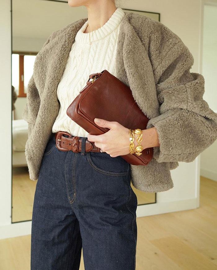Style File | Mini Trend: Teddy Bear Coats for Wintertime