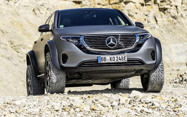 Mercedes EQC 4x4 Squared antecipa off-road elétrico