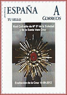 sello, tu sello, personalizado, Exaltación de la Cruz, Avilés