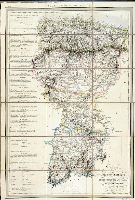 RAIGAÑU ( Asociación de Cultura Tradicional Leonesa): Mapa del Reino ...