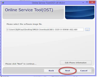 OST Tool Nokia 5 Flashing