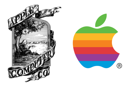 Apple logo 1976-1977