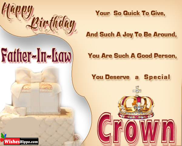 199 Happy Birthday Wishes For Father In Law Image Message Quotes Wisheshippo