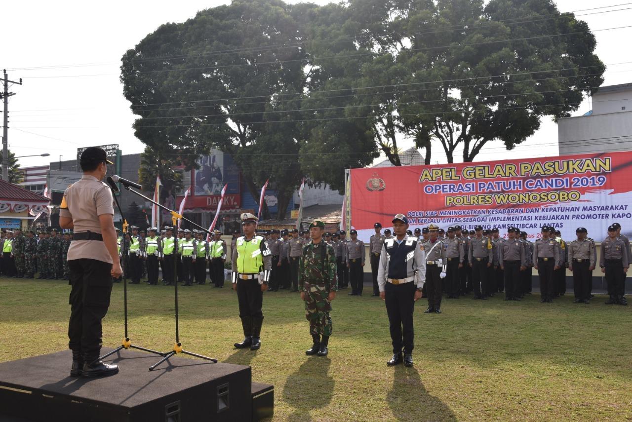 Polres Wonosobo Gelar Operasi Patuh Candi 2019 Selama 14 Hari