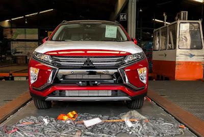 Spyshot Mitsubishi Eclipse Cross di Soekarno Hatta