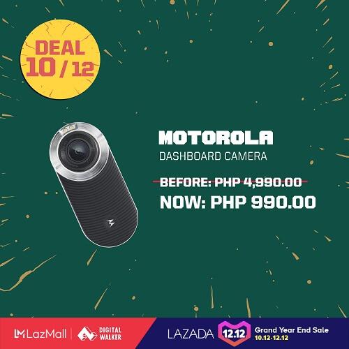 Motorola Dashboard Camera at Php990