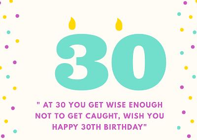 ucapan ulang tahun bahasa inggris yang ke 30 tahun