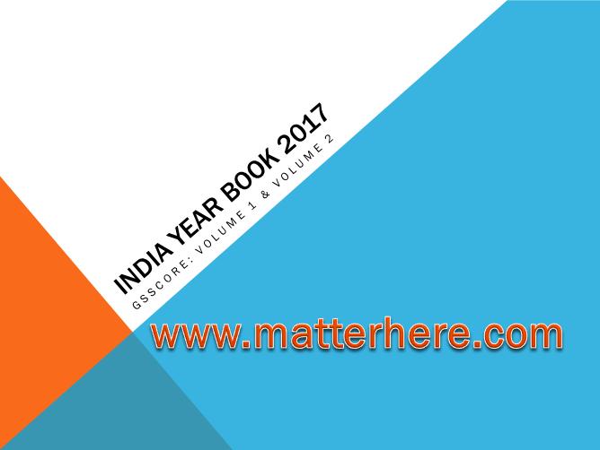 India Year Book Pdf 2017
