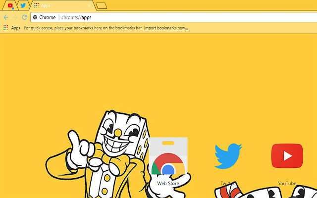 Cuphead Theme FOR Chrome Dont Deal With The Devil