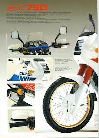Moto Guzzi NTX Brochure