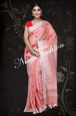 Linen sarees in bhagalpur