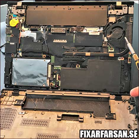 Öppna-Lenovo-Laptop-Felsöka-Fläkt