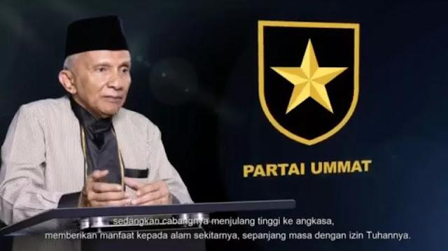 Amien Rais Resmi Luncurkan Logo Partai Ummat, Diberi Nama Perisai Tauhid