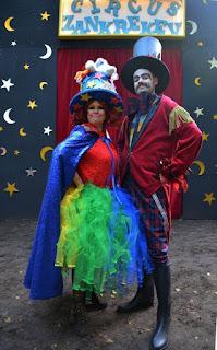 Circusdirecteur Zankrekev en Ans Klokskaja