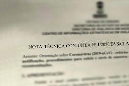 Governo de Sergipe divulga Nota Técnica com orientações sobre o Novo Coronavírus