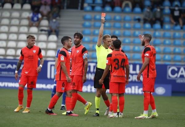 Málaga, Haitam es sancionado con un partido