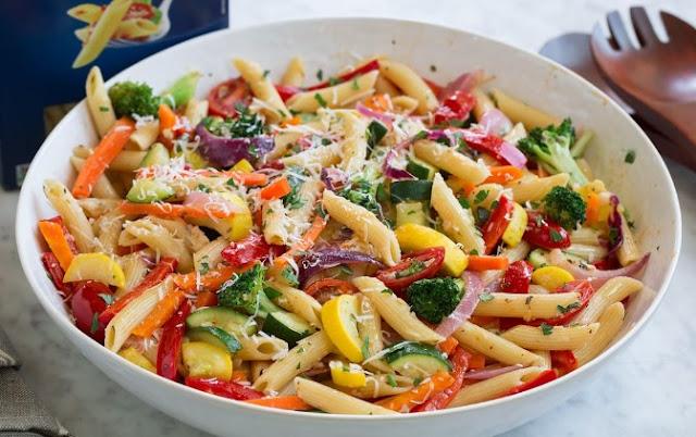 Pasta Primavera #vegetarian #pasta