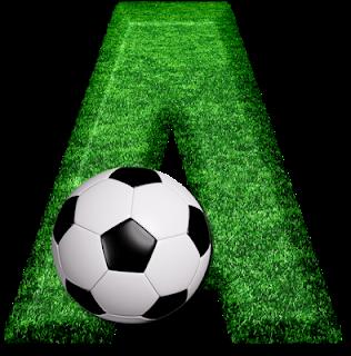 Abecedario Campo de Fútbol. Soccer Field Alphabet.