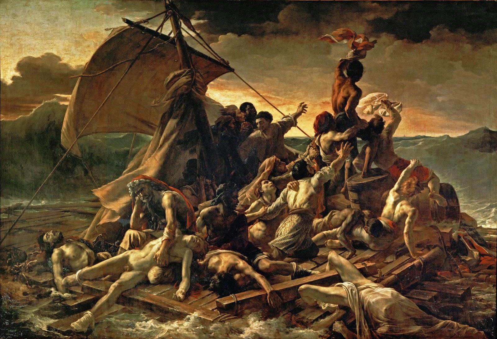 Peinture Française du 19ème Siècle: The Raft of the Medusa ...