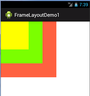 Example Framelayout Android Code Android Example