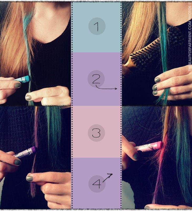 Pintar os cabelos sem usar tinta