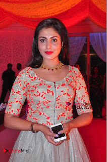 Actress Madhu Shalini Exclusive Stills in Party Dress at Vijay Karan Aashna Wedding  0006.JPG