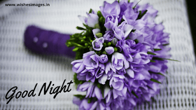 good night flowers photo