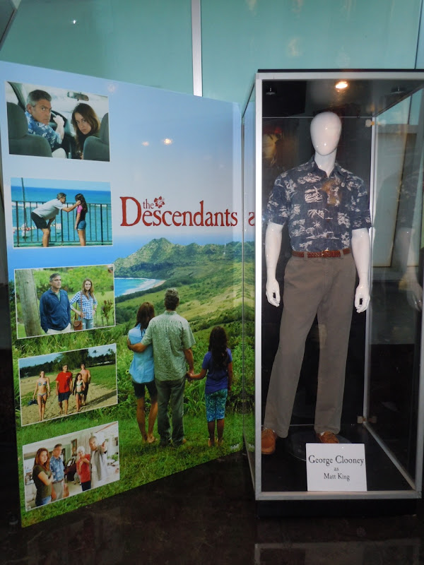 George Clooney The Descendants costume display