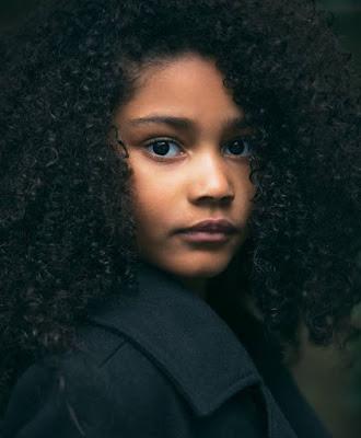 هيلدى فاسكيز ، الطفلة الامريكية السمراء الجميلة