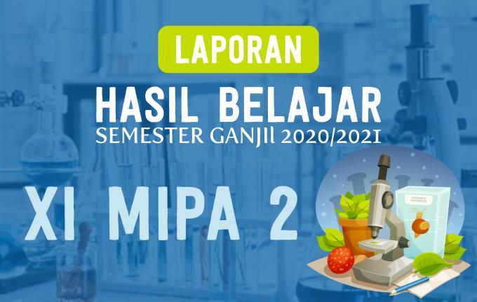 LAPORAN HASIL BELAJAR XI MIPA 2