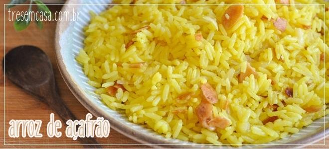 arroz de açafrão