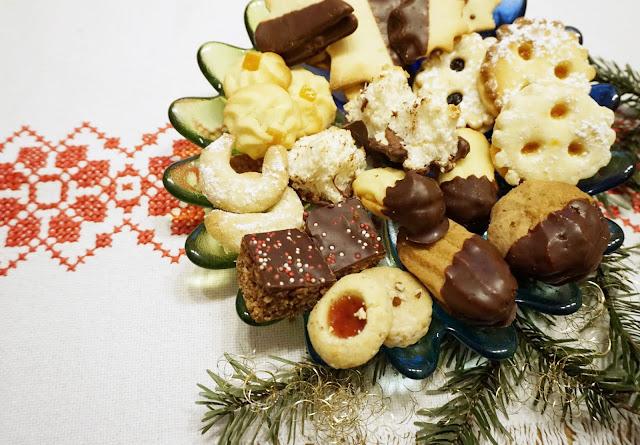 Adventszeit - Vorfreude auf Weihnachten, Keksteller, Kekse
