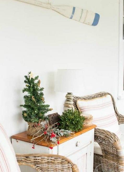 Coastal Mini Christmas Tree