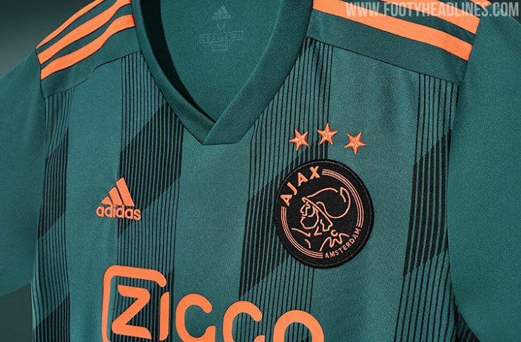 the latest b2eeb 5a740 Ajax 19-20 Away Kit Released - Footy Headlines