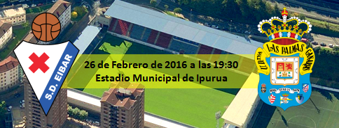 Previa SD Eibar - UD Las Palmas Estadio de Ipurua