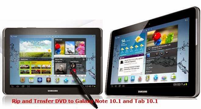 Galaxy Note 10.1 and Tab 10.1