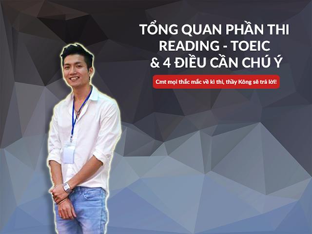 Luyện thi phần thi đọc TOEIC - Reading Comprehension