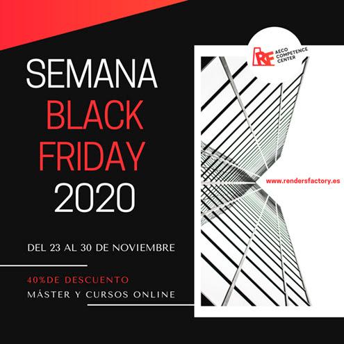 Cursos BIM Online (Semana Black Friday 40% jmhdezhdez-2020 Rendersfactory)