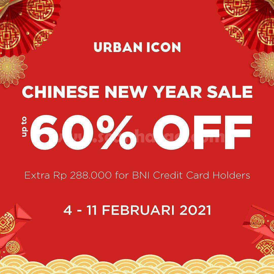 Urban Icon Chinese New Year Sale! Discount up to 60% Off