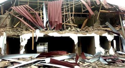 Armed Men Demolish Nigerian High Commission In Ghana