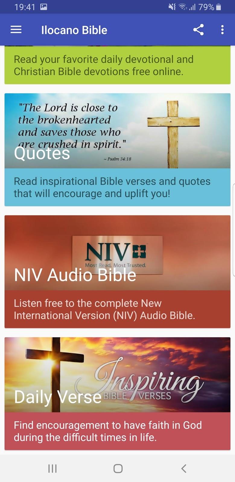 Ilocano (Philippines) Bible App