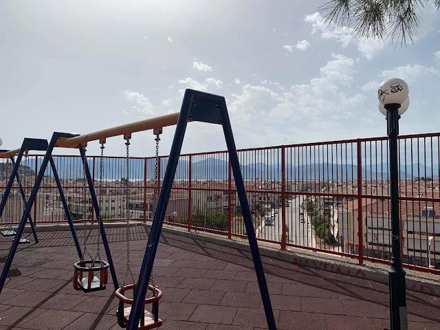 Ναύπλιο: Νέα παιδική χαρά στα Κουτσούρια με πανοραμική θέα