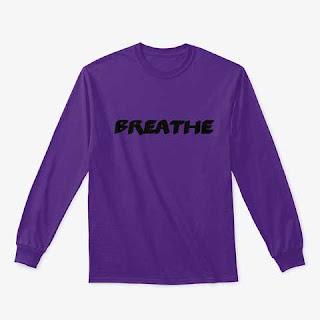 Breathe Classic Long Sleeve Tee Shirt Purple