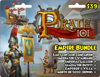 Paige's Page: Pirate101 Empire Bundle-Game Stop