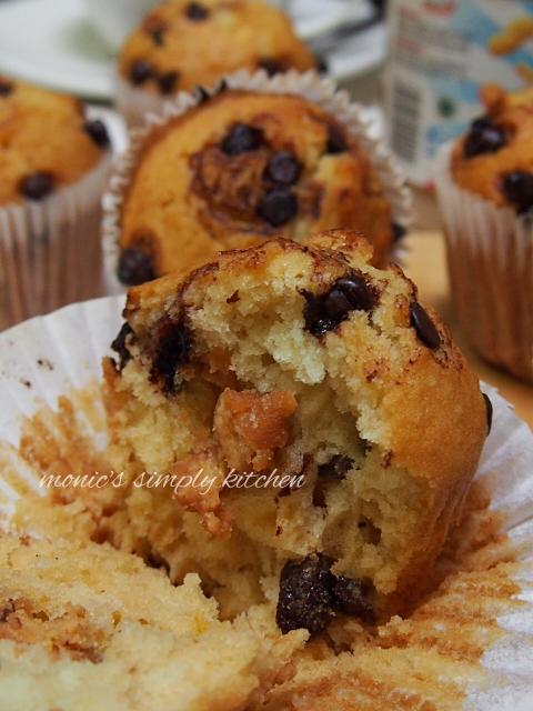 muffin buttermilk mudah dibuat