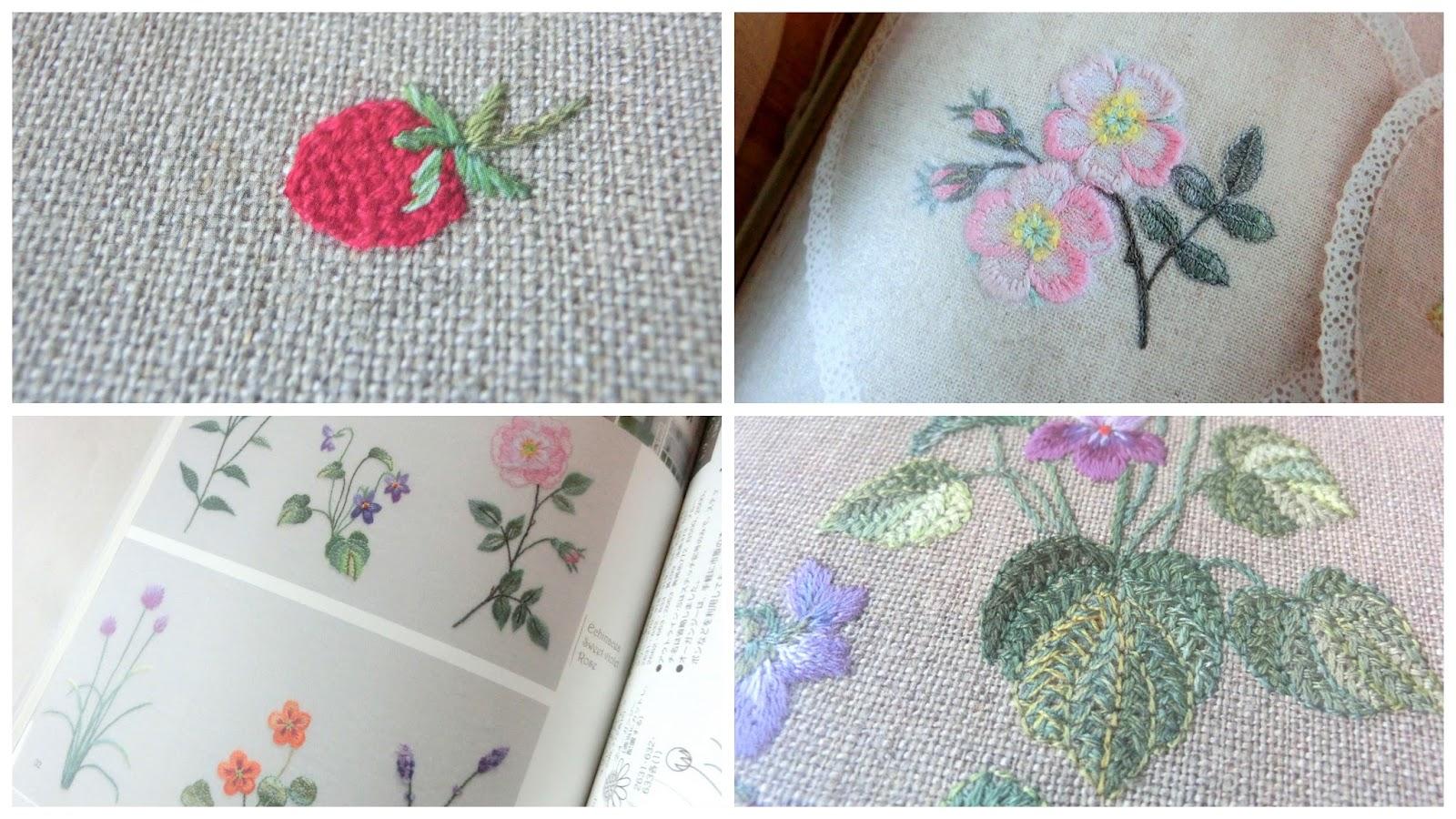 японская вышивка схемы